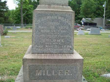 MILLER, JEREMIAH - Trumbull County, Ohio   JEREMIAH MILLER - Ohio Gravestone Photos