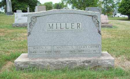 GAITHER MILLER, GRACE MARIAH - Trumbull County, Ohio | GRACE MARIAH GAITHER MILLER - Ohio Gravestone Photos
