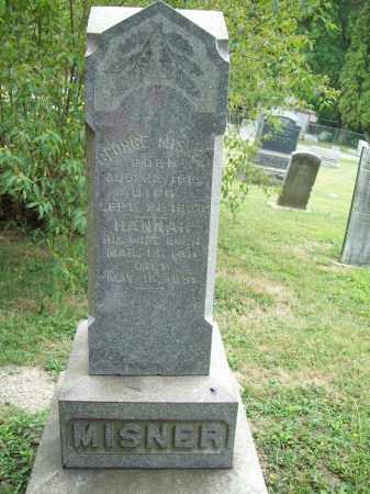 MISNER, HANNAH - Trumbull County, Ohio | HANNAH MISNER - Ohio Gravestone Photos