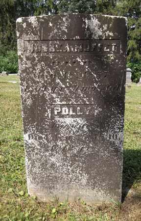 MOFFIT, POLLY - Trumbull County, Ohio | POLLY MOFFIT - Ohio Gravestone Photos