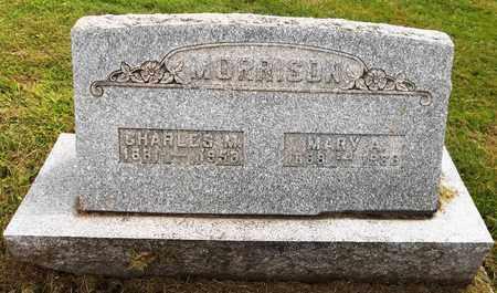 MORRISON, CHARLES M. - Trumbull County, Ohio | CHARLES M. MORRISON - Ohio Gravestone Photos