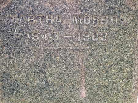 MORROW, MARTHA - Trumbull County, Ohio   MARTHA MORROW - Ohio Gravestone Photos
