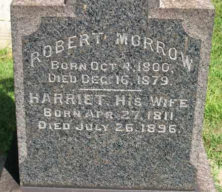 MORROW, ROBERT - Trumbull County, Ohio | ROBERT MORROW - Ohio Gravestone Photos