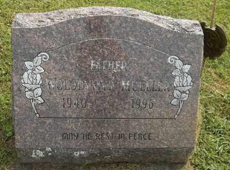 MUELLER, WOLODYMYR - Trumbull County, Ohio | WOLODYMYR MUELLER - Ohio Gravestone Photos