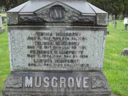 MUSGROVE, BELINDA - Trumbull County, Ohio | BELINDA MUSGROVE - Ohio Gravestone Photos