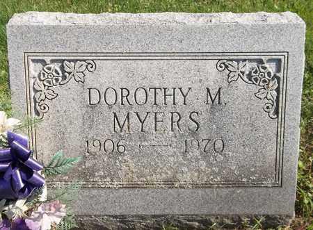 MYERS, DOROTHY M. - Trumbull County, Ohio | DOROTHY M. MYERS - Ohio Gravestone Photos