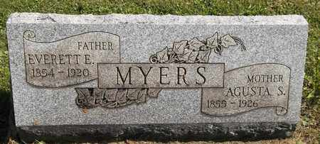 MYERS, AGUSTA S. - Trumbull County, Ohio | AGUSTA S. MYERS - Ohio Gravestone Photos