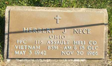 NECE, HERBERT J. - Trumbull County, Ohio   HERBERT J. NECE - Ohio Gravestone Photos