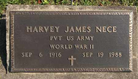 NECE, HARVEY JAMES - Trumbull County, Ohio | HARVEY JAMES NECE - Ohio Gravestone Photos