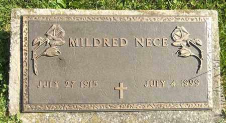 NECE, MILDRED - Trumbull County, Ohio | MILDRED NECE - Ohio Gravestone Photos