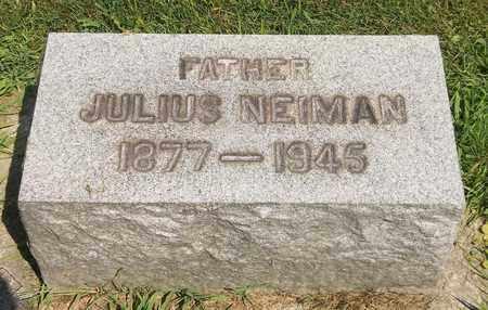 NEIMAN, JULIUS - Trumbull County, Ohio | JULIUS NEIMAN - Ohio Gravestone Photos