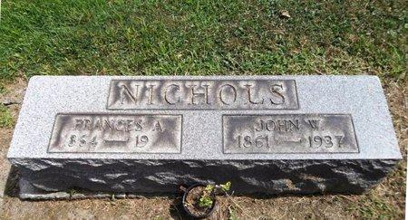 NICHOLS, FRANCES A. - Trumbull County, Ohio | FRANCES A. NICHOLS - Ohio Gravestone Photos