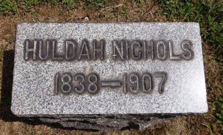 NICHOLS, HULDAH - Trumbull County, Ohio | HULDAH NICHOLS - Ohio Gravestone Photos