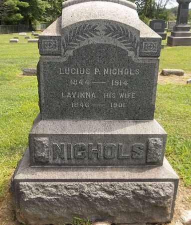 NICHOLS, LUCIUS P. - Trumbull County, Ohio   LUCIUS P. NICHOLS - Ohio Gravestone Photos
