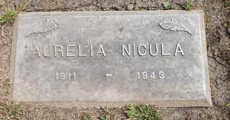 NICULA, AURELIA - Trumbull County, Ohio | AURELIA NICULA - Ohio Gravestone Photos