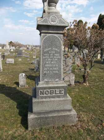 NOBLE, URSULA A. - Trumbull County, Ohio | URSULA A. NOBLE - Ohio Gravestone Photos