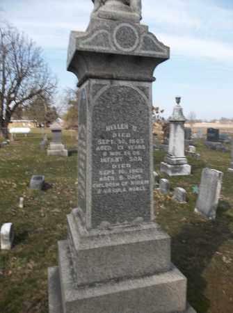 NOBLE, INFANT SON - Trumbull County, Ohio   INFANT SON NOBLE - Ohio Gravestone Photos