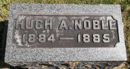 NOBLE, HUGH A. - Trumbull County, Ohio | HUGH A. NOBLE - Ohio Gravestone Photos
