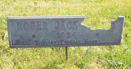 NOBLE, ROGER JACK - Trumbull County, Ohio | ROGER JACK NOBLE - Ohio Gravestone Photos