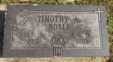 NOBLE, TIMOTHY A. - Trumbull County, Ohio | TIMOTHY A. NOBLE - Ohio Gravestone Photos