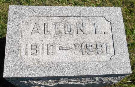 NORRIS, ALTON L. - Trumbull County, Ohio | ALTON L. NORRIS - Ohio Gravestone Photos