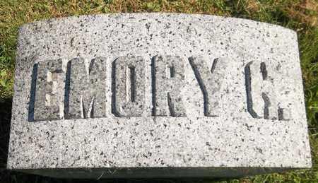 NORRIS, EMORY G. - Trumbull County, Ohio | EMORY G. NORRIS - Ohio Gravestone Photos