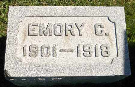 NORRIS, EMORY C. - Trumbull County, Ohio   EMORY C. NORRIS - Ohio Gravestone Photos
