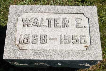 NORRIS, WALTER E. - Trumbull County, Ohio   WALTER E. NORRIS - Ohio Gravestone Photos