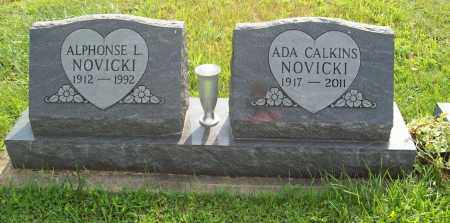 CALKINS NOVICKI, ADA - Trumbull County, Ohio | ADA CALKINS NOVICKI - Ohio Gravestone Photos