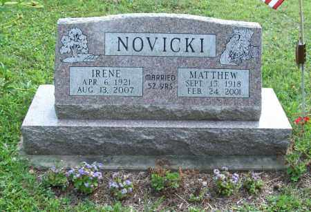 NOVICKI, IRENE P. - Trumbull County, Ohio | IRENE P. NOVICKI - Ohio Gravestone Photos