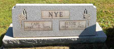 NYE, CARL L. - Trumbull County, Ohio | CARL L. NYE - Ohio Gravestone Photos