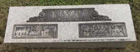 NYE, E. ROY - Trumbull County, Ohio | E. ROY NYE - Ohio Gravestone Photos
