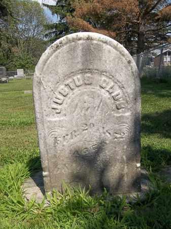 OLDS, JUSTUS - Trumbull County, Ohio | JUSTUS OLDS - Ohio Gravestone Photos