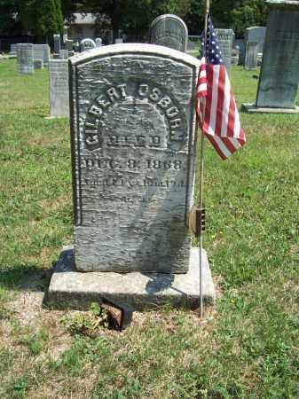 OSBORN, GILBERT - Trumbull County, Ohio   GILBERT OSBORN - Ohio Gravestone Photos