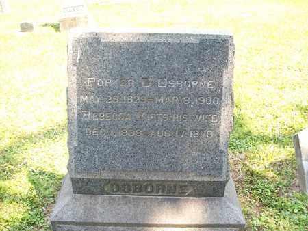 VIETS OSBORNE, REBECCA - Trumbull County, Ohio | REBECCA VIETS OSBORNE - Ohio Gravestone Photos