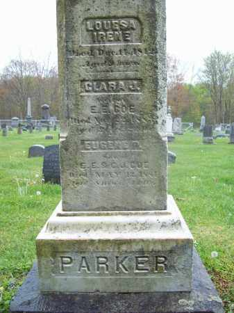 PARKER, LOUISA IRENE - Trumbull County, Ohio | LOUISA IRENE PARKER - Ohio Gravestone Photos