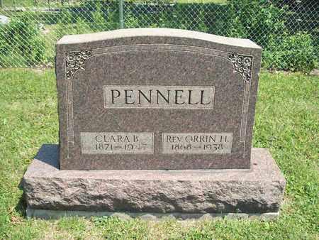 PENNELL, ORRIN H., REV. - Trumbull County, Ohio | ORRIN H., REV. PENNELL - Ohio Gravestone Photos