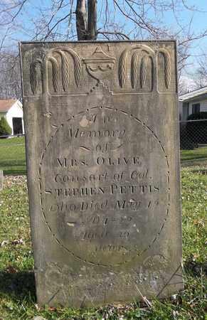 RICE PETTIS, OLIVE - Trumbull County, Ohio | OLIVE RICE PETTIS - Ohio Gravestone Photos