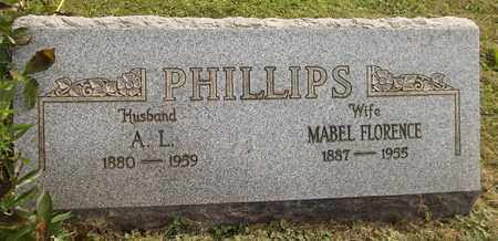PHILLIPS, MABEL FLORENCE - Trumbull County, Ohio   MABEL FLORENCE PHILLIPS - Ohio Gravestone Photos