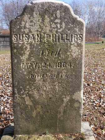 PHILLIPS, SUSAN - Trumbull County, Ohio | SUSAN PHILLIPS - Ohio Gravestone Photos