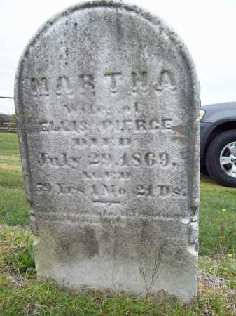 PIERCE, MARTHA - Trumbull County, Ohio | MARTHA PIERCE - Ohio Gravestone Photos