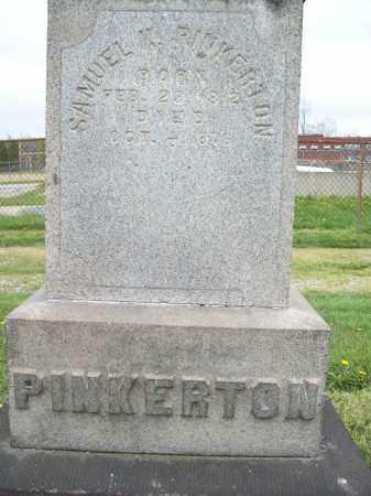 PINKERTON, SAMUEL K. - Trumbull County, Ohio | SAMUEL K. PINKERTON - Ohio Gravestone Photos