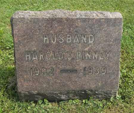 PINNEY, HAROLD E. - Trumbull County, Ohio | HAROLD E. PINNEY - Ohio Gravestone Photos