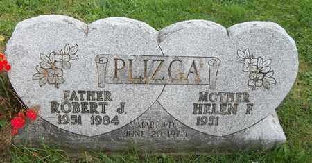 PLIZGA, ROBERT J. - Trumbull County, Ohio | ROBERT J. PLIZGA - Ohio Gravestone Photos