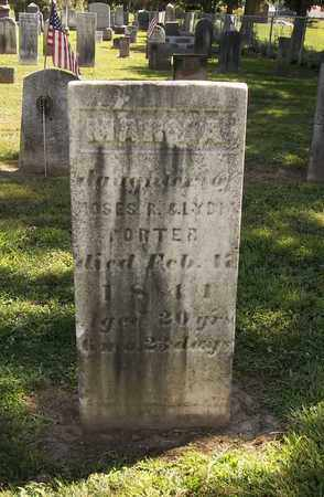 PORTER, MARY AMANDA - Trumbull County, Ohio | MARY AMANDA PORTER - Ohio Gravestone Photos