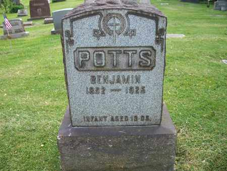 POTTS, BENJAMIN - Trumbull County, Ohio | BENJAMIN POTTS - Ohio Gravestone Photos