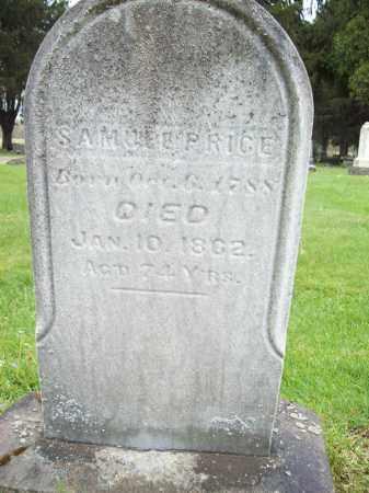PRICE, SAMUEL - Trumbull County, Ohio | SAMUEL PRICE - Ohio Gravestone Photos