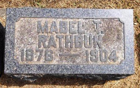 TROWBRIDGE RATHBUN, MABEL - Trumbull County, Ohio | MABEL TROWBRIDGE RATHBUN - Ohio Gravestone Photos