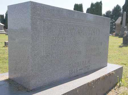 RAYMOND, MYRON E. - Trumbull County, Ohio | MYRON E. RAYMOND - Ohio Gravestone Photos