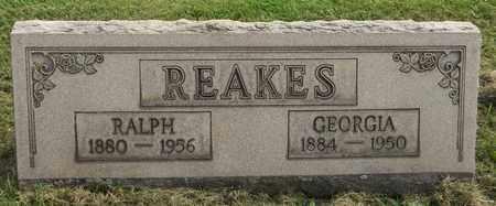 REAKES, RALPH - Trumbull County, Ohio | RALPH REAKES - Ohio Gravestone Photos